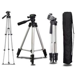 Image 1 - אוניברסלי מיני נייד אלומיניום חצובה Stand & תיק עבור Canon ניקון מצלמה Sony Panasonic מצלמה חצובות