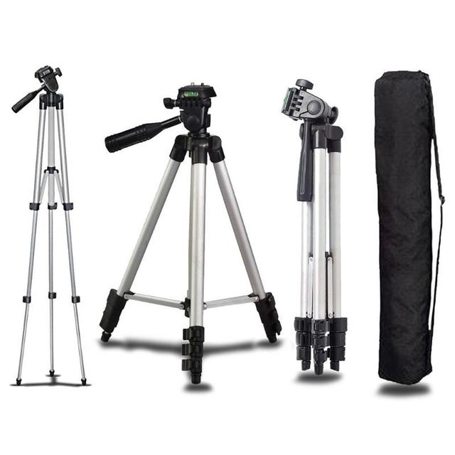אוניברסלי מיני נייד אלומיניום חצובה Stand & תיק עבור Canon ניקון מצלמה Sony Panasonic מצלמה חצובות