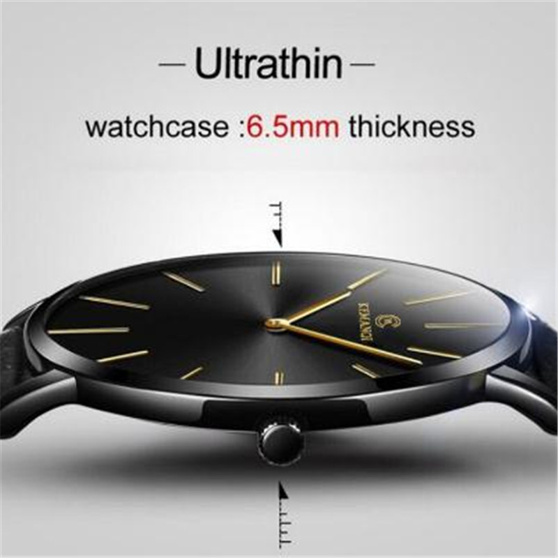 Watch The Slimmest Special Offer For Mens Watches Top Brand Luxury 2019 Ultra-thin Montre Sport Homme Relogio Masculino