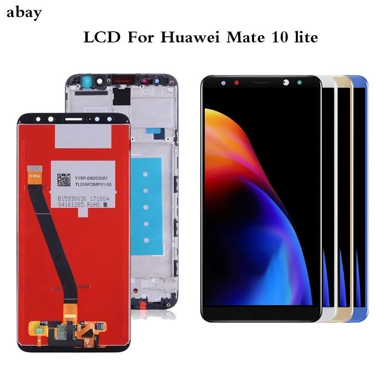 """Pantalla de 5,9 """"OEM para HUAWEI Mate 10 Lite G10, pantalla táctil LCD para HUAWEI Mate 10 Lite, 2i Nova pantalla LCD, repuesto de RNE-L21"""