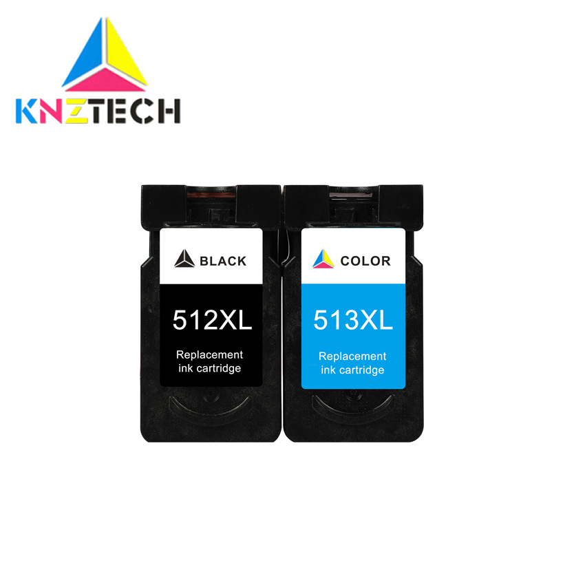 PG512XL CL513XL PG512 CL513 Remplacer pour Canon pg 512 cl 513 cartouche d'encre pour Pixma MP230 MP250 MP240 MP270 MP480 MX350 IP2700