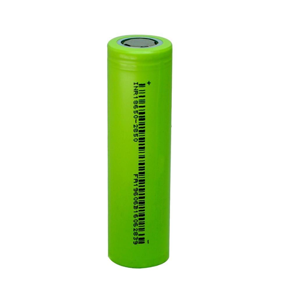 1 Uds 3C 18650 2800mah 3,7 V li-ion plana superior recargable batería INR litio dongci baterías