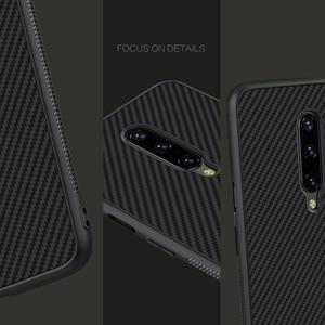 Image 4 - Pour OnePlus 7 Pro étui OnePlus 7 6 6T couverture NILLKIN étui de luxe fibre synthétique carbone PP plastique téléphone couverture arrière pour un Plus7