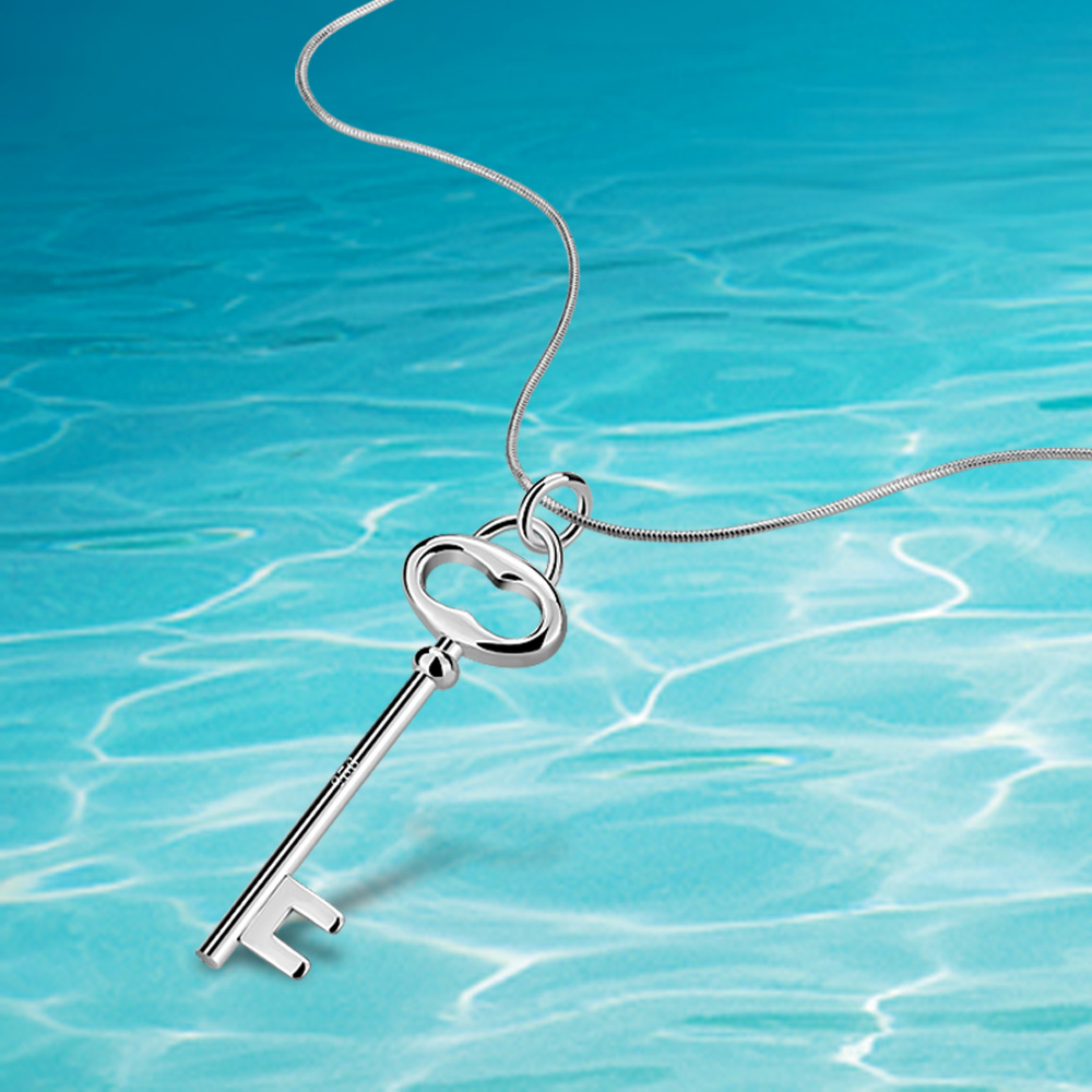 Hot charm necklace. real sterling silver necklaces for women, 925 - Fine Jewelry - Photo 2
