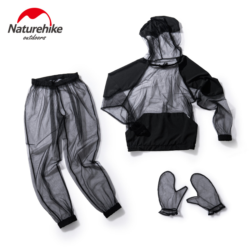 Naturehike Outdoor Anti-mosquito Suit Fishing Camping Ultralight 230g Perspective Mesh Set Hiking Climbing Protective Equipment