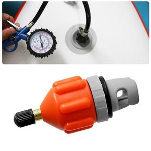 Surf Board Rowing Boat Air Valve Adapter Connector Kayak Inflatable Pump Parts Attachment Kayak Accessory Parts kayak boat