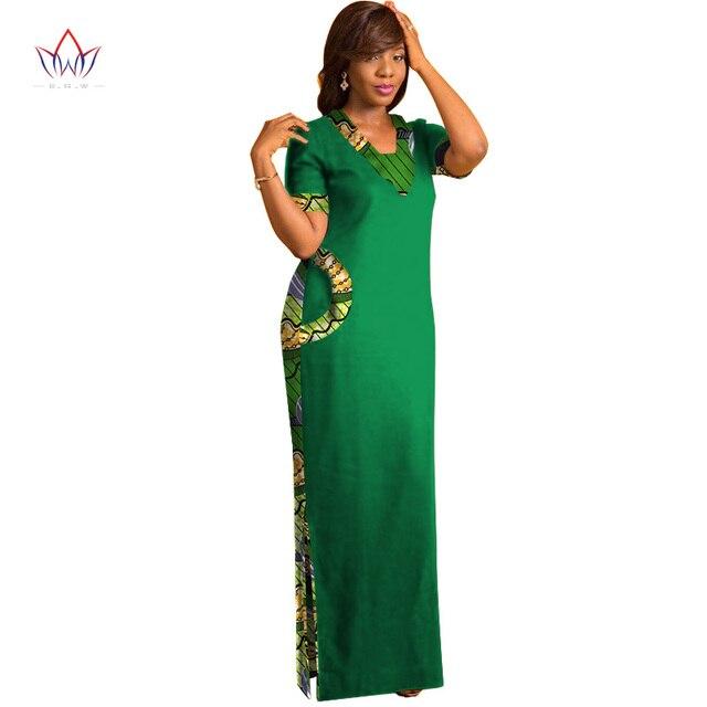 Фото brw африканская одежда для женщин с коротким рукавом макси платья