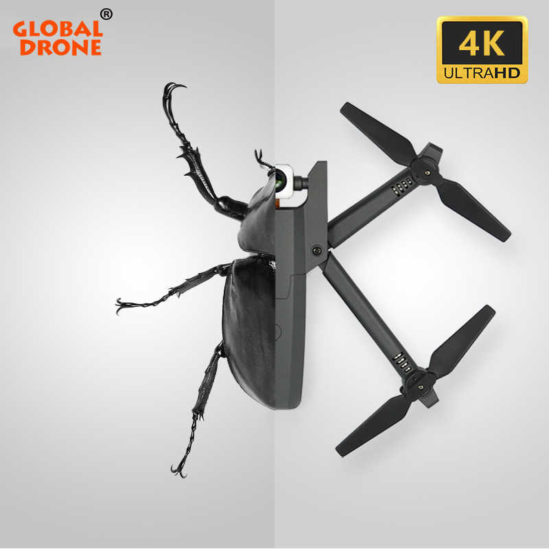 Global Drone GW106 4K Quadcopter Wifi FPV Ketinggian Terus Quadrocopter RC Drone dengan Kamera HD Drone Vs XS816 E58 m70 E520 SG106