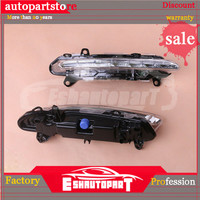 Luz 2218201856 S500 para niebla Clase S Mercedes Running DRL S350 2009-2013 diurna W221 WarriorsArrow 2218201756 L + R LED