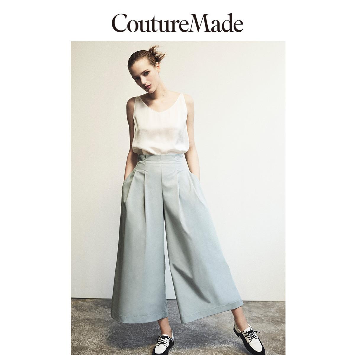 Vero Moda CoutureMade Women's Wide-leg Elasticized Back Waist Pants   319250512