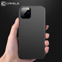 Cafele Original Soft TPU Case For iPhone 11 Pro MAX Phone Ultra thin Cover Cases pro 2019 Anti Fingerprint