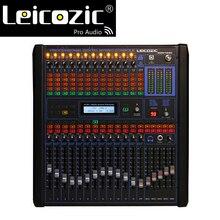 Leicozic 12 канальный Профессиональный цифровой микшер профессиональный звуковой микшер dj микшер пульт Цифровой выход звуковой микшер для сцены