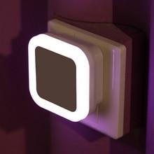 Auto Lamp Mini LED Light Sensor Control Night Light Night Lights   Lamps for Bedroom Hallway Home Decoration