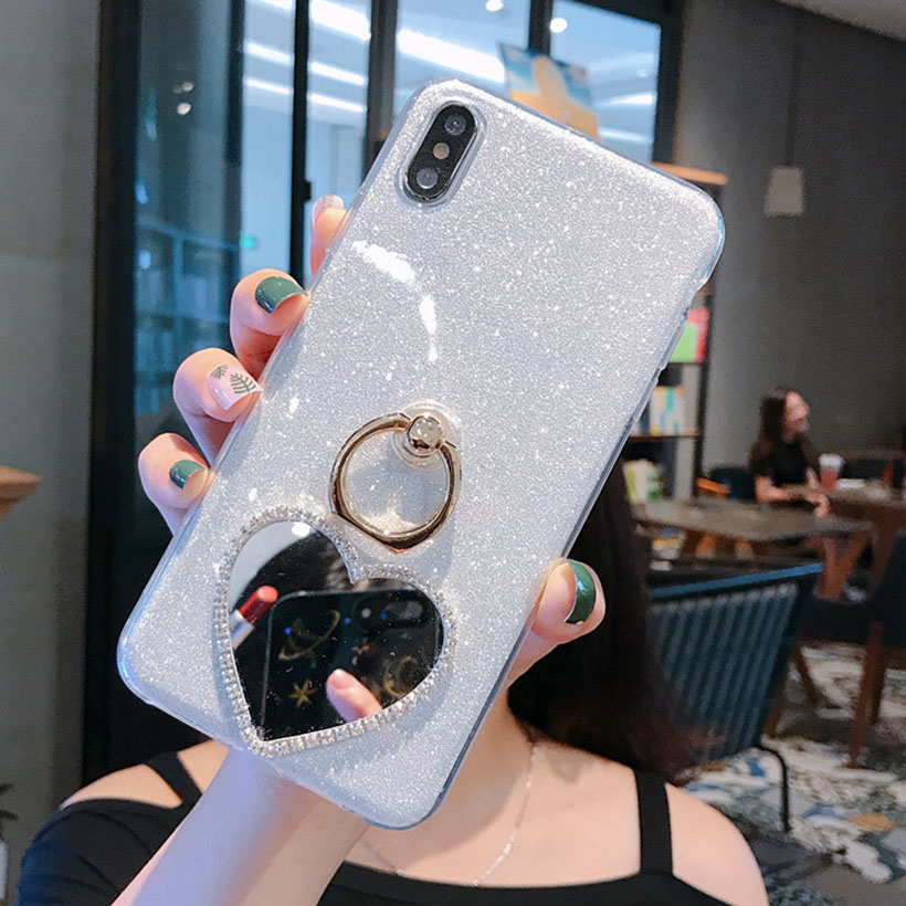 redmi note 8 pro 8t ring holder mirror case for xiaomi redmi note 9s 9 pro max 10x 8a 7 7a 6 6a 5 plus 5a prime 4a 4x cover capa phone case covers aliexpress