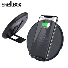 10W Fast Wireless Charger For Samsung Galaxy S9 S9+ S8 S7 Note 9 S7 Edge USB Qi Charging Pad for iPhone XS Max XR X 8 Plus