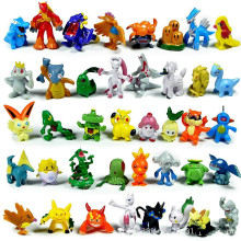 2-4cm 6/24/144pcs Takara Tomy Pokemon Action Figure Toys Mini Figures Model Toy Pikachu Anime Kids Doll Birthday Gifts