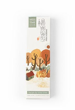 Forest Story Paper Bookmark(1pack=30pieces)