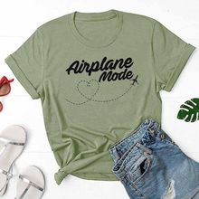 T-Shirt d'été décontracté en coton Tumblr, avec motif humoristique, pour voyage et vacances