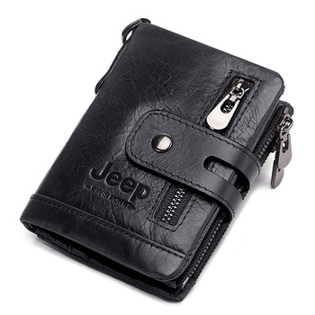 Luxury Designer Men Wallet Genuine Leather Bifold Short Wallets Male Hasp Vintage Purse Coin Pouch Multi-functional Cards Pocket 21