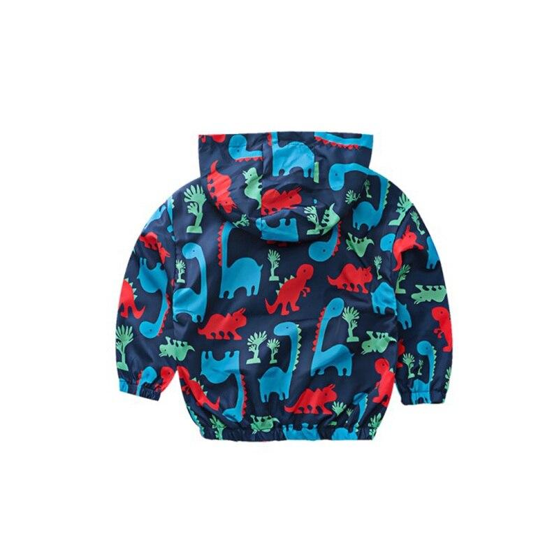 CROAL CHERIE  Fall Outerwear Coats Boys Kids Girls Jacket Cute Dinosaur Children Clothing Casual Baby Spring Jacket 80-130cm (1)