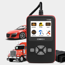 цена на 2019 For Truck And Car Best OBD2 Car Diagnostic Tool 2.7 inch Color Display Auto Code Reader Diagnostic Scan Tool Trucks j1939
