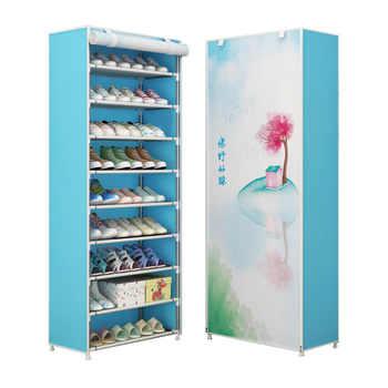 Multilayer Shoe Cabinet Dustproof Shoes Storage Closet large Space-saving Assemble Organizer Holder Shoe Rack for Home Furniture