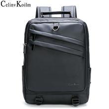 Мужской кожаный рюкзак celinv koilm для ноутбука 14 дюймов женский