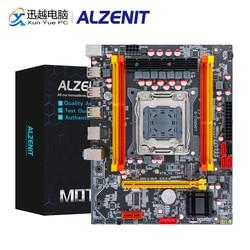 ALZENIT X79M-CE3 placa base Intel X79 LGA 2011 Xeon E5 apoyo ECC REG DDR3 128GB M.2 NVME NGFF SATA3.0 USB2.0 Placa de servidor