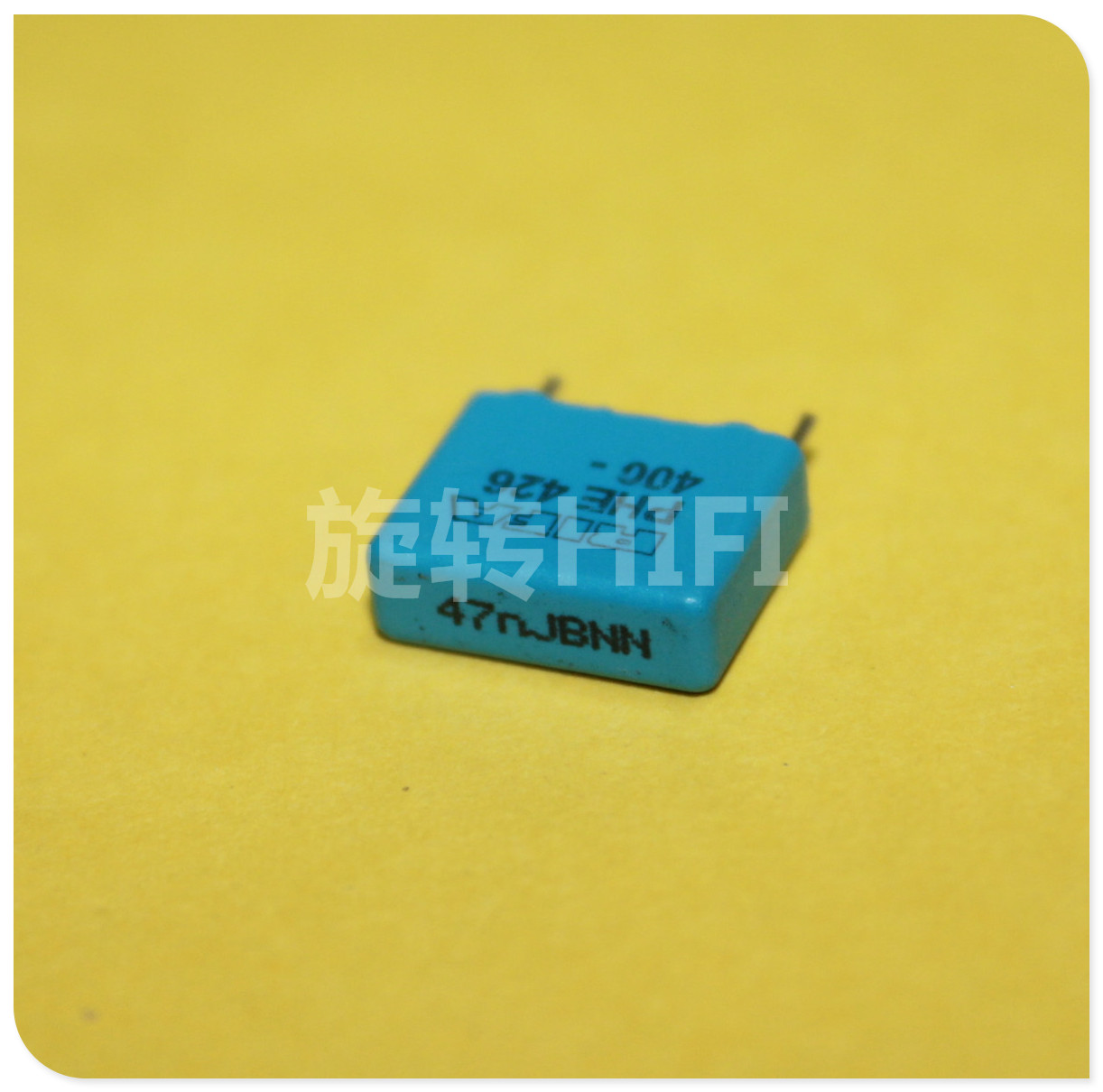 10PCS RIFA PHE426 0.047UF 400V P10MM MKP 473/400V Audio Blue Film Capacitor 426 0.047u 400VDC 47NF 473