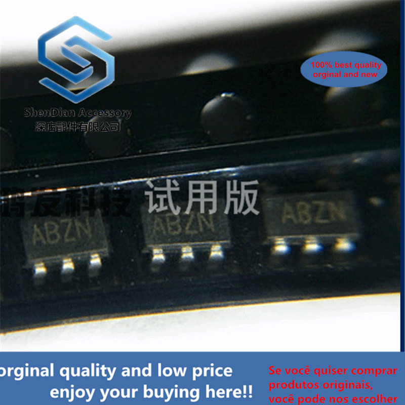 5pcs 100% Orginal New MAX870EUK+T  Switching Regulator IC Screen Printing ABZN SMD SOT153 23-5 MAXIM