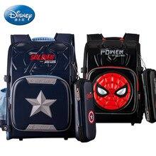 Genuine Disney Schoolbag Primary School Male Large Capacity 6-10 Year Old Backpack Birthday Gift Cute Backpack