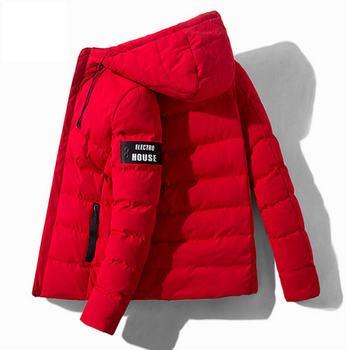Parkas de invierno para hombre, abrigo grueso acolchado, chaqueta con capucha, vestido,...