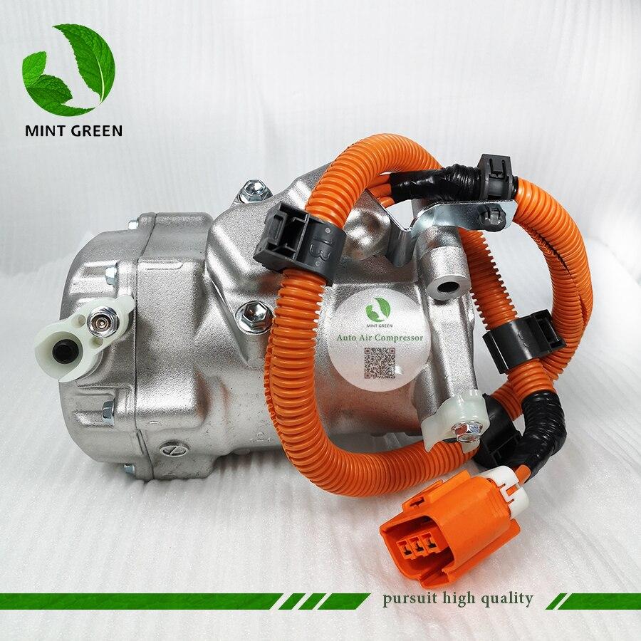 AC A/C Compressor Koeling Pomp ES18C voor TOYOTA PRIUS 1.5L Hybrid NHW20 8837047010 0420000194 0420000195 0420000193 0420000197