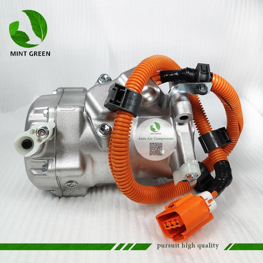 AC A/C Compressore Pompa di Raffreddamento ES18C per TOYOTA PRIUS 1.5L Hybrid NHW20 8837047010 0420000194 0420000195 0420000193 0420000197