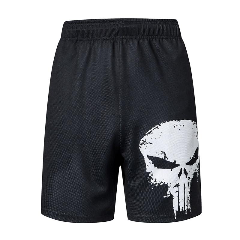 New Fashion Men Sports Beach Shorts Trouser Bodybuilding Sweatpants Fitness Superhero Jogger Casual Gym Men Shorts