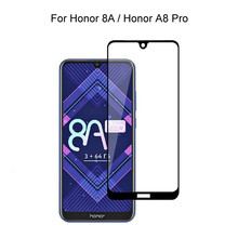 Tempered Glass For Huawei Honor 8A Pro / Honor 8A Full Cover 2.5D Screen Protector Tempered Glass For Huawei Honor 8A Pro 2pcs full cover tempered glass for huawei honor 8a pro honor 8a protective glass screen protector for huawei honor 8a pro