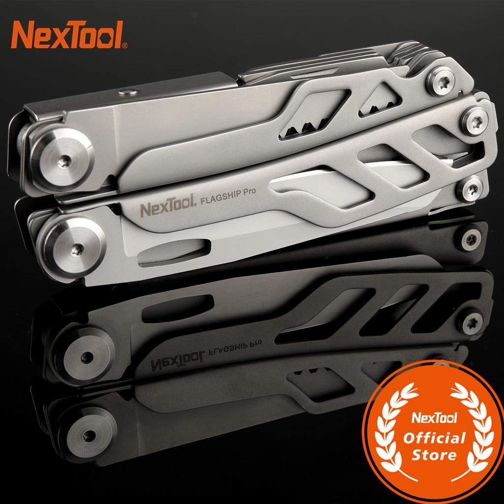 NE0104 NexTool Flagship Pro EDC набор ручных инструментов для улицы 16 в 1 многофункциональные плоскогубцы складной нож отвертка консервный нож версия #2
