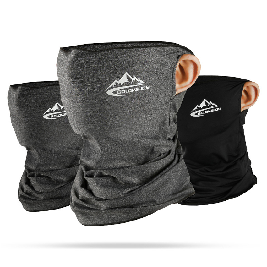 Ice Silk Sun-proof Face Mask Summer Riding Anti-sweat Breathable Headband Multifunctional Outdoor Dustproof Men Scarf Bandana