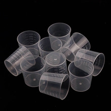 1 Piece Of 30ml Epoxy Resin Plastic Measuring Cup Kit Scale Precision Resin Mold Jewelry Making Mold