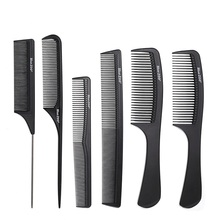 Comb Hair Brush Cleaner Tangle Set Electroplate Detangling Combs Profession Girls Plastic Makeuptools