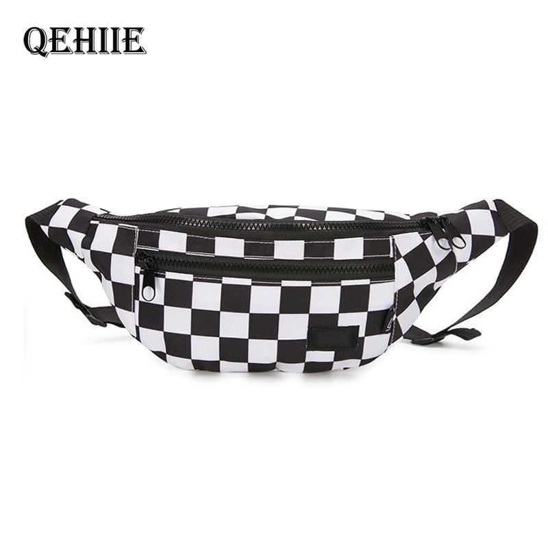 Waist Bag For Woman Belt Brand New Fashion Zipper Phone Pocket Chest Bag Unisex Fanny Pack For Men Belt Pack Hip Belt Bags Money