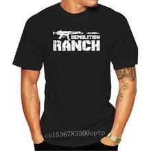 Demolition ranch American rights to bear arms Men t-shirt 100% cotton funny print tshirt men women shirts