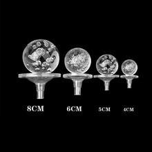 Support de boule de verre rotatif, accessoires de fontaine à eau DIY, Base de boule de cristal