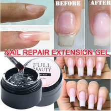 5 Ml Serat Uv Gel Polandia Fiberglass Ekstensi Bangunan Uv Gel Varnish Perbaikan Rusak Kuku Rendam Off Uv Gel Memperpanjang kuku Tips # YH(China)