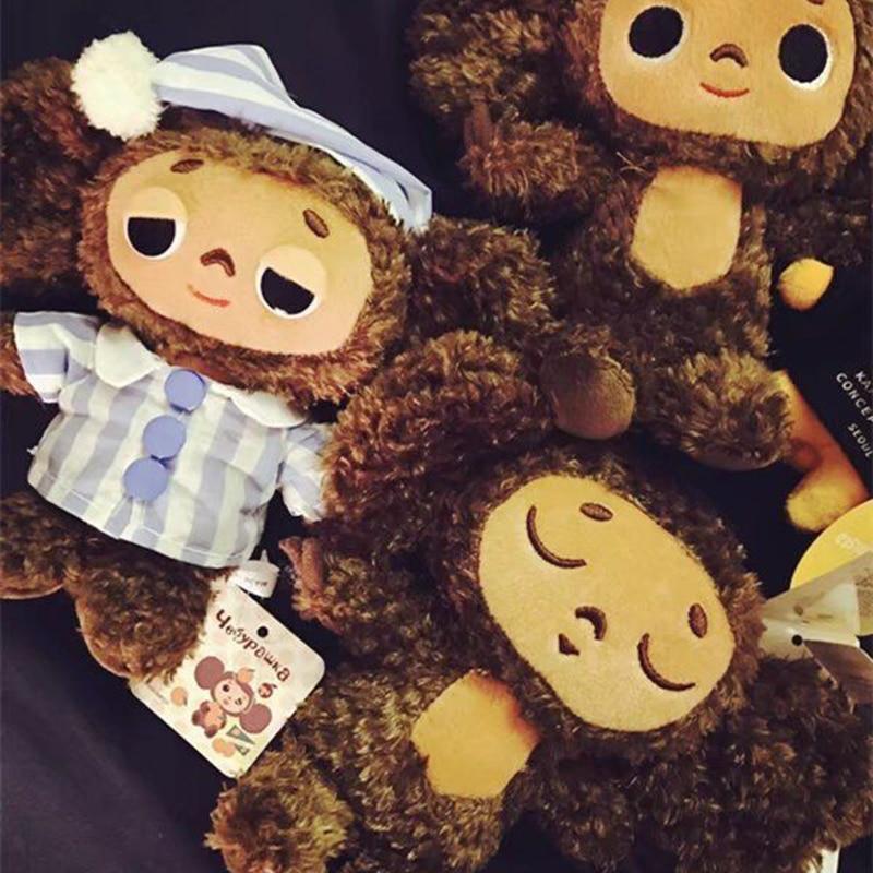 Russian Cheburashka Big Eared Monkey Plush Toys For Children Long Plush Stuffed Animals Monkey Dolls For Kids Decoratinon Gift