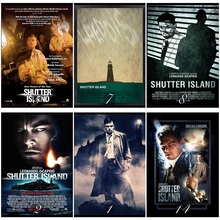Shutter Island Movie Home Decorative Painting White Kraft Paper Poster 42X30cm fashion brand pink soft silicon tpu case for iphone 11 pro max phone case for iphone x xr xs max 8 7 6 6s plus secret back cover