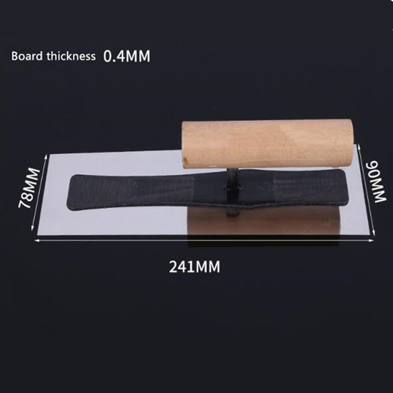 Japanese Finishing Knife Diatom Mud Construction Nail-free Stainless Steel Trowel Batch Knife Mud Trowel