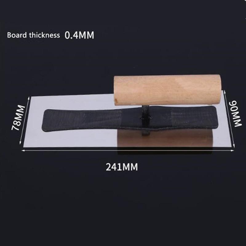 Japanese Finishing Knife Diatom Mud Construction Nail-free Stainless Steel Trowel Batch Knife Mud Trowel
