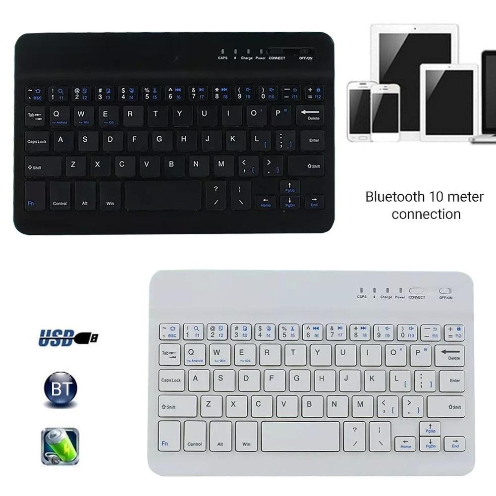 Slim Portable Mini Wireless Bluetooth Touch Keyboard for Phone Tablet Laptop support IOS Android System Phone Universal