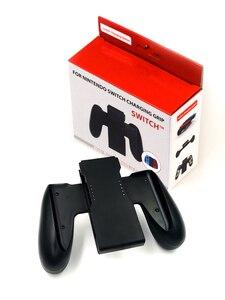 Image 5 - AOLION قاعدة شحن محطة شاحن قابلة للشحن حامل ل نينتندو التبديل Joy Con NS مقبض شاحن تحكم